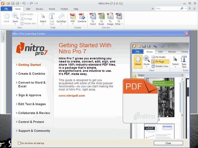 nitro pdf professional  with crack for windows 7